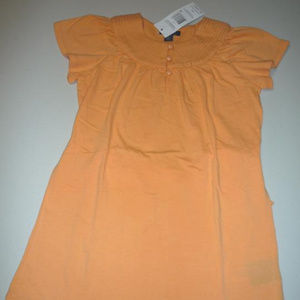 Tommy Hilfiger Peach Dress, Girls sz XS(4-5)